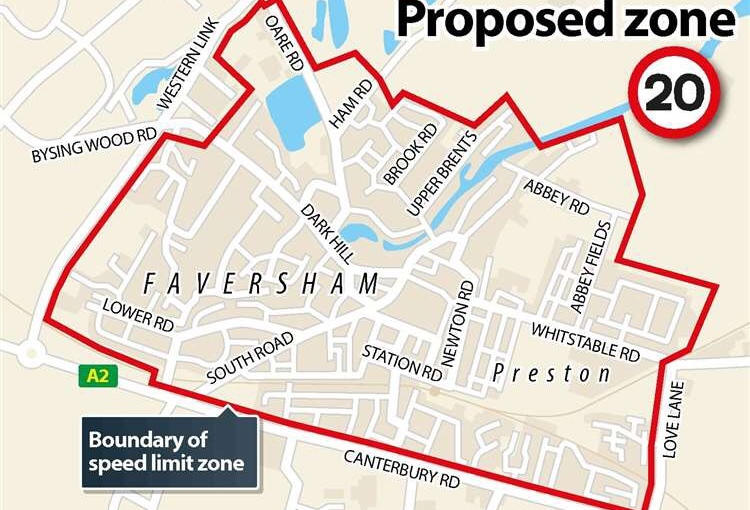 KCC approves Faversham 20mph limit: significant community engagement must now take place